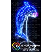 Дельфин - объемная светодиодная фигура