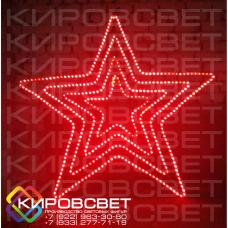 Звезда пятиконечная красная