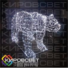 Большая медведица - объемная светодиодная фигура