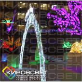 """Арка """"С новым годом!"""" - светодиодная арка"""