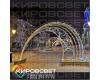 Арка ПОЛУКРУГ - светодиодная арка