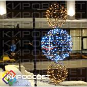Шар световой 3D - объемная светодиодная фигура