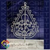 Дерево декоративное в ассортименте - светодиодная конструкция