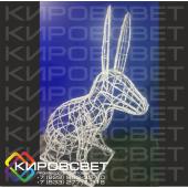 Заяц - объемная светодиодная фигура