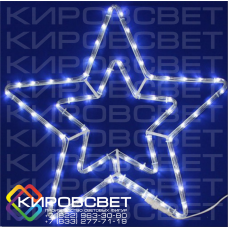 Звездочка - светодиодная плоская фигура