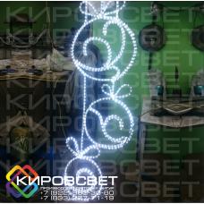 Елочные игрушки - светодиодная плоская фигура
