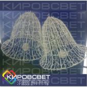Колокол - объемная светодиодная фигура