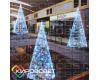 Елка-КОНУС 3D - объемная светодиодная фигура