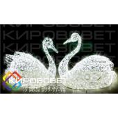 Лебедь - объемная светодиодная фигура