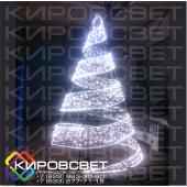 Елка-ЛЕНТА 3D - объемная светодиодная фигура