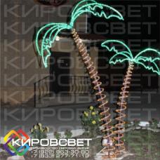 Пальмы - объемная светодиодная фигура