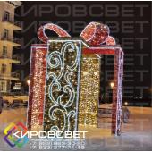 Подарок - объемная светодиодная композиция