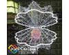 Раковина с жемчужиной - объемная светодиодная фигура