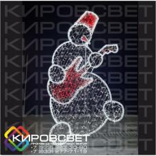 Снеговик - светодиодная конструкция