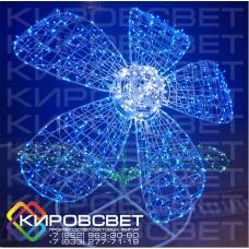 Цветок 3D - объемная светодиодная фигура