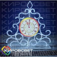 Часы - светодиодная конструкция